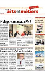 thumbnail-of-201404 Journal USAM - avril 2014 - Le macrocosme des PME sous les projecteurs