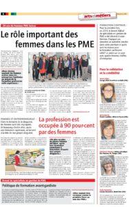 thumbnail of 201412-Journal-USAM-decembre-2014-Le-role-important-des-femmes-dans-les-PME