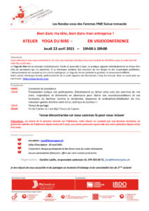 thumbnail of Invitation Yoga du rire – 22.4.2021