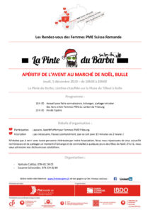 thumbnail of Invitation apéro marché Noël Bulle
