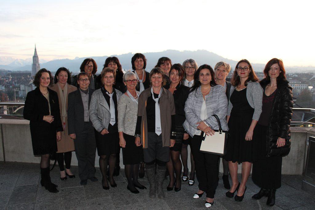 Remise des brevets le 20 novembre 2014 à Berne