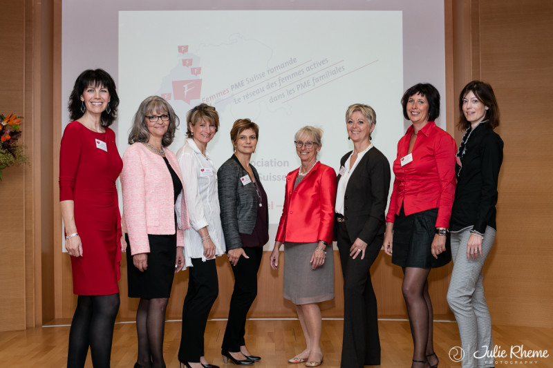 Lancement officiel de <br />l'Association Femmes PME Suisse romande<br /> Photo du Comité du 01.10.2015