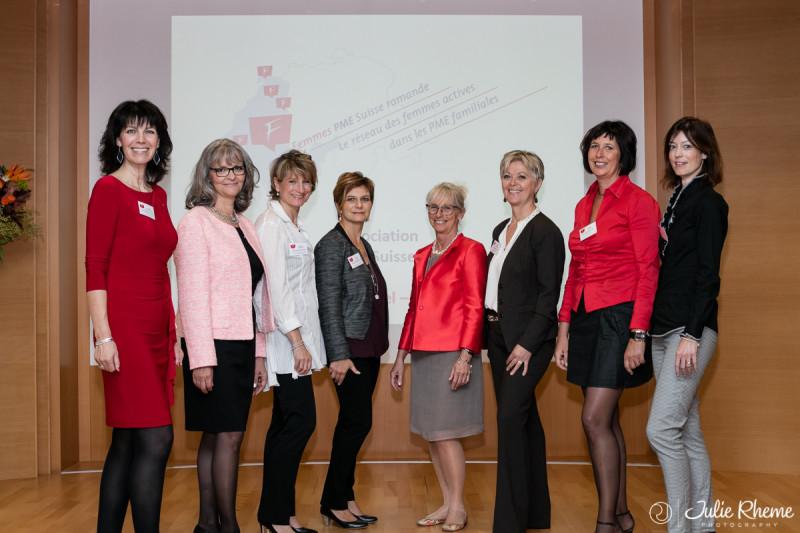Lancement officiel de <br />l'Association Femmes PME Suisse romande<br /> Photo du Comité du 01.10.2015